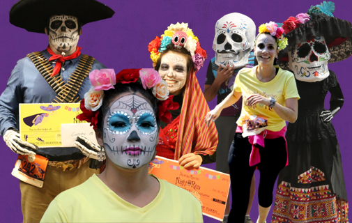 Dia De Los Muerto Night Run